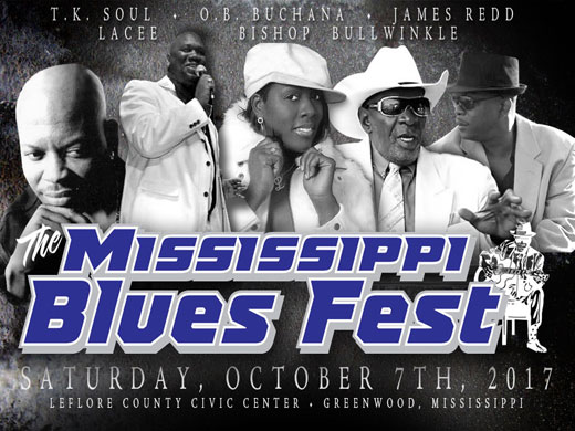 The Mississippi October Blues Fest 2017