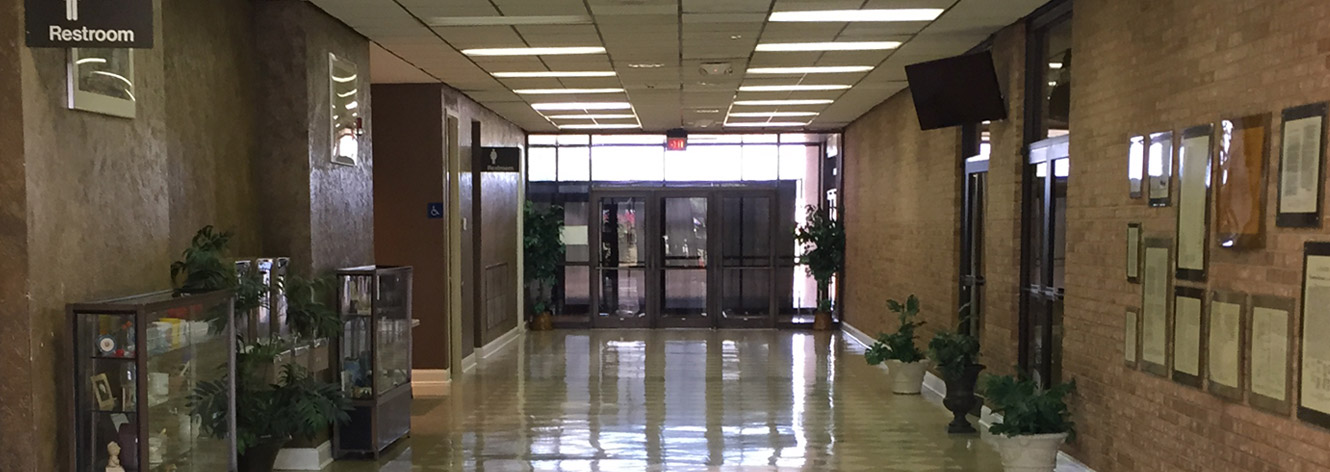 Entrance Hallway - Leflore Civic Center
